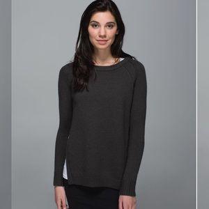 Lululemon • Yin To You Merino Wool Sweater